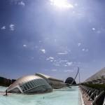 Ciudad de las Artes y las Ciencias de Valencia de Santiago Calatrava. Foto: Archerphoto