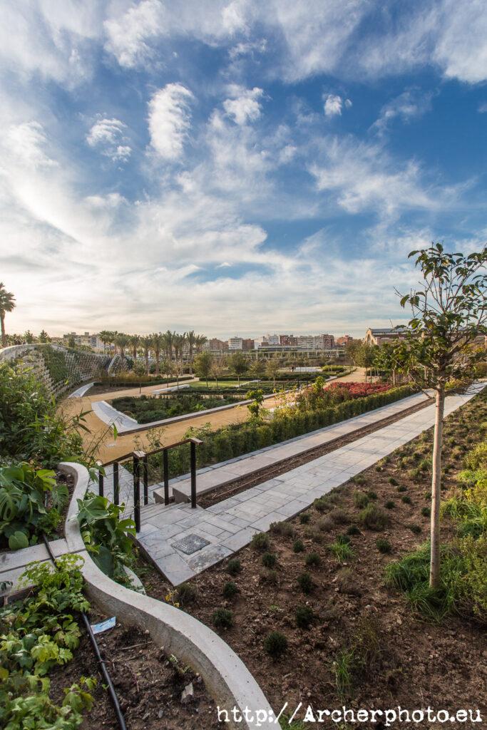 Parc Central de València, plano general