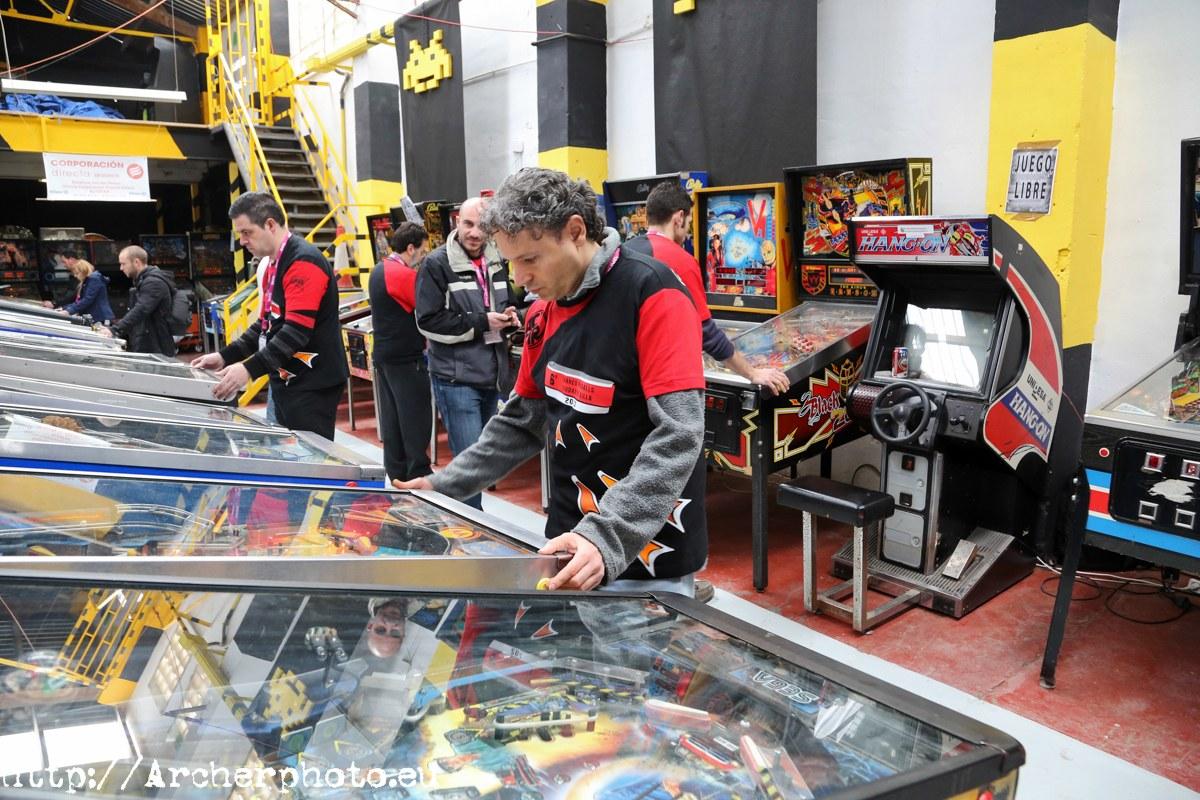 Torneo de Pinball Ciudad de Silla 2013. Fotografía: Archerphoto