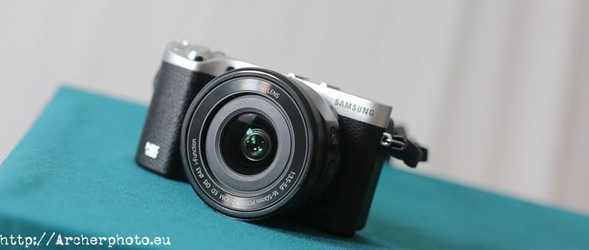 NX500 con la lente de kit, por Sergi Albir, fotógrafo profesional