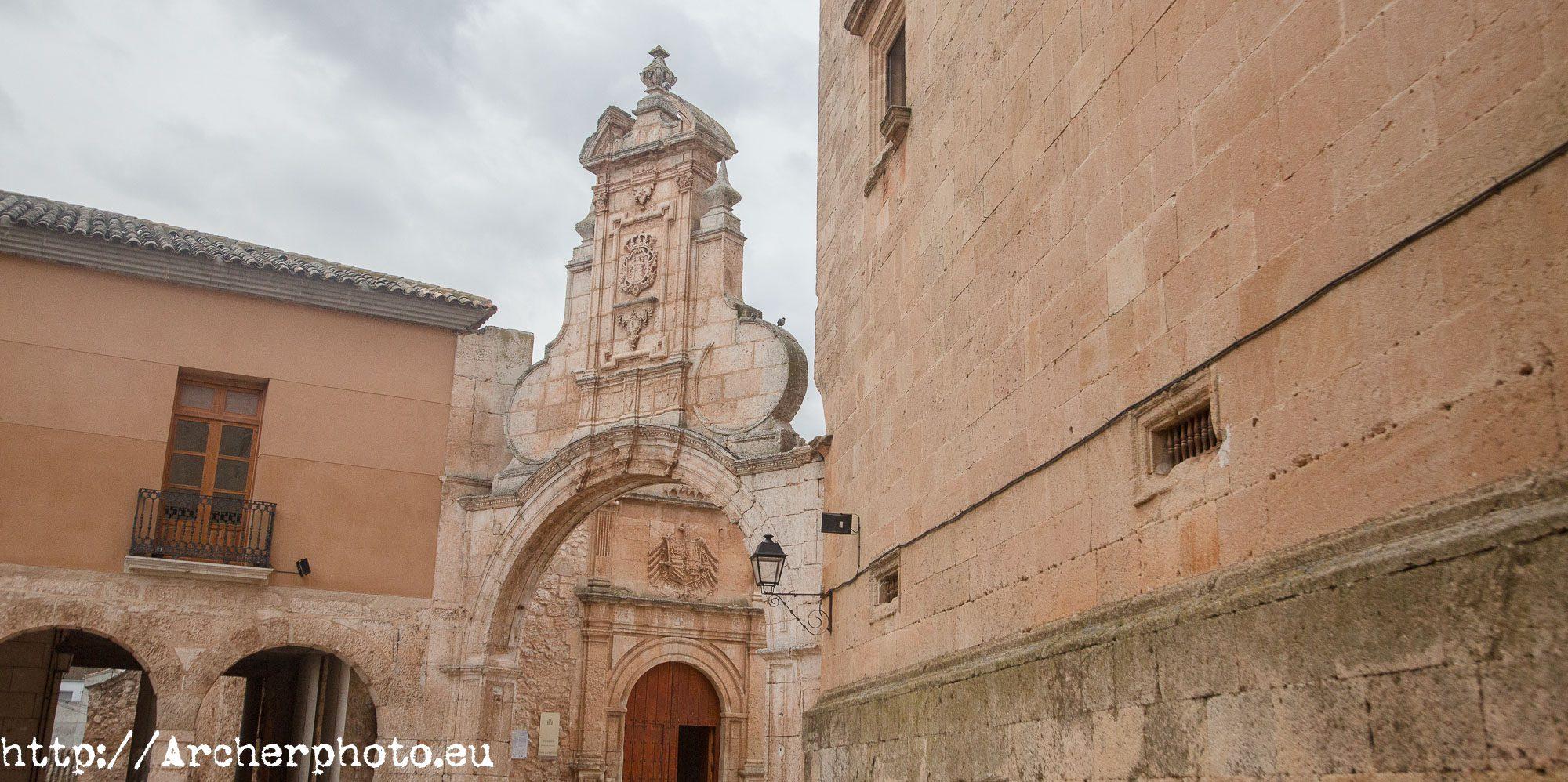 Arco barroco San Clemente, Cuenca por Sergi Albir, fotógrafo profesional