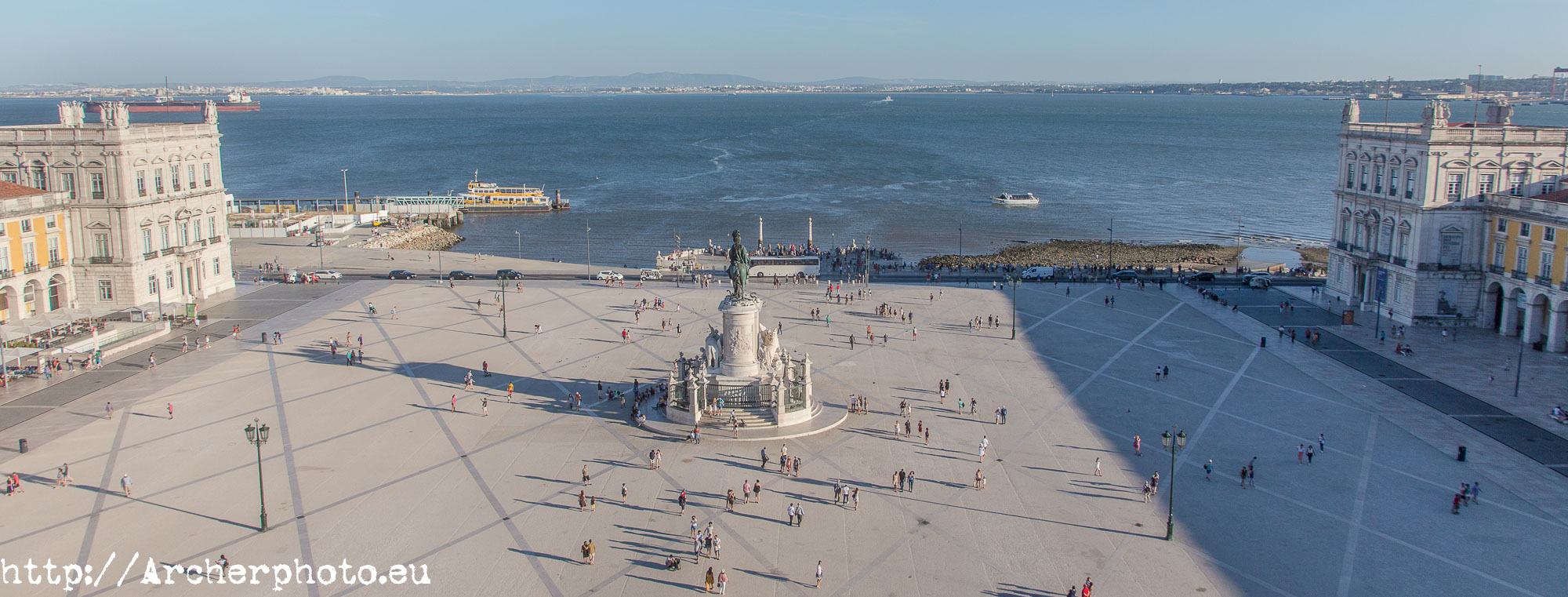 Praça do Comércio o Terreiro do Paço, Lisboa, Portugal, por Archerphoto, fotógrafo profesional