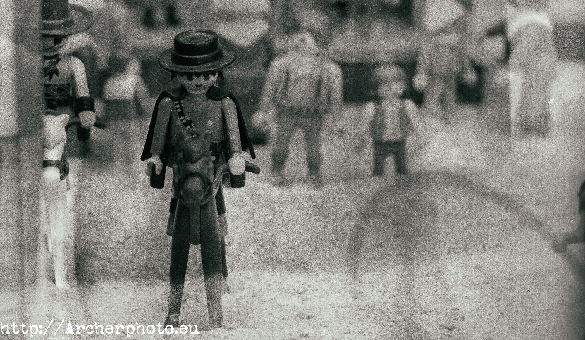 Clicks de Playmobil, Archerphoto, fotógrafo en el Far West