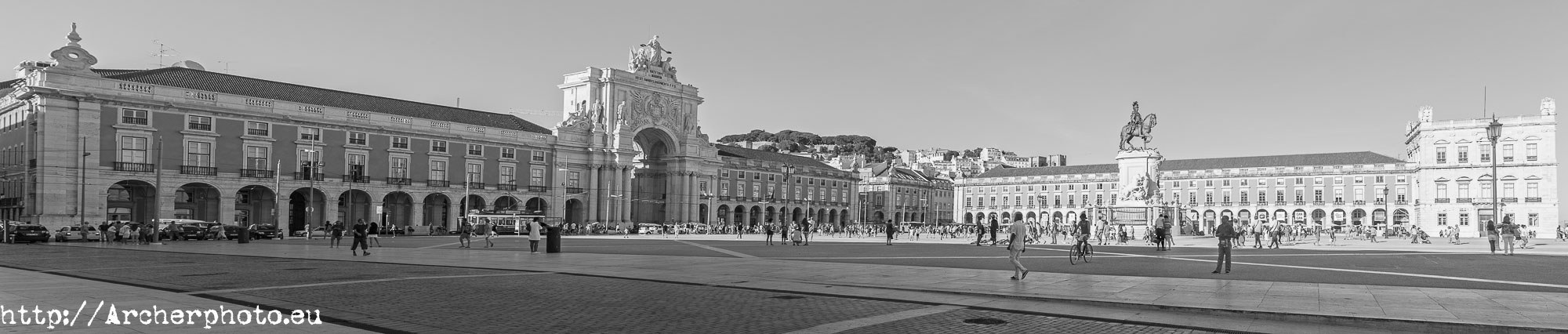 Terreiro do Paço, Archerphoto
