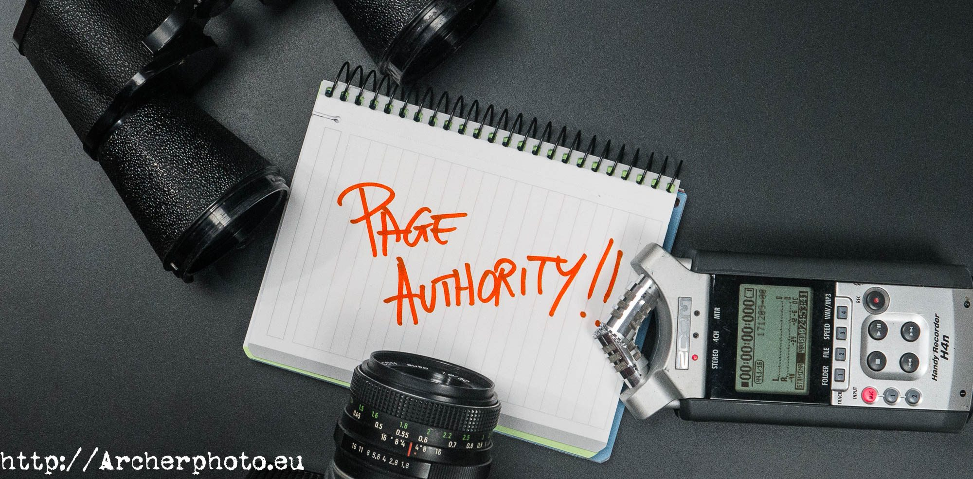Page authority,SEO,fotografo