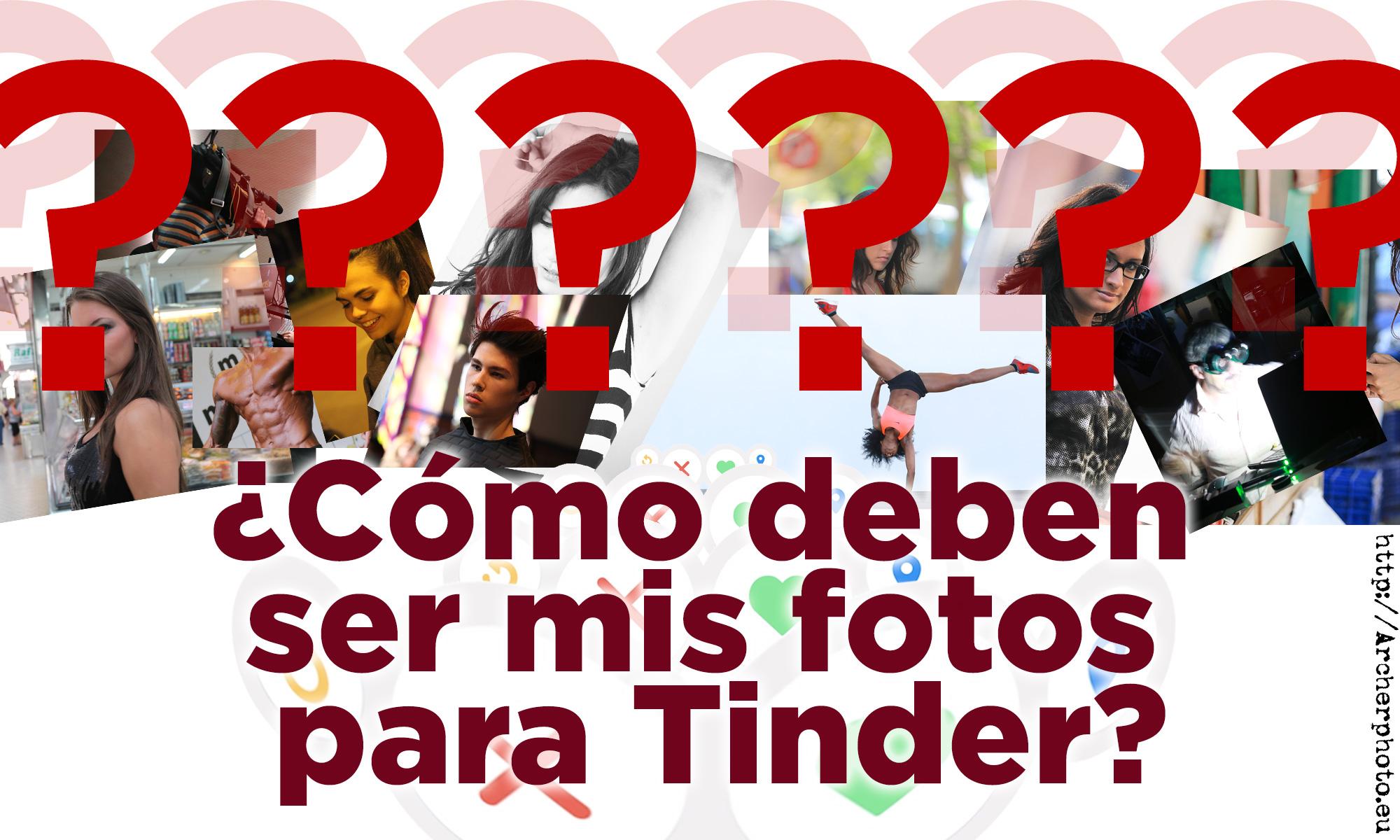 fotos para Tinder