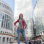 Inma en Canary Wharf - Books de fotos en Londres, Madrid, Barcelona... - Archerphoto, fotógrafo profesional