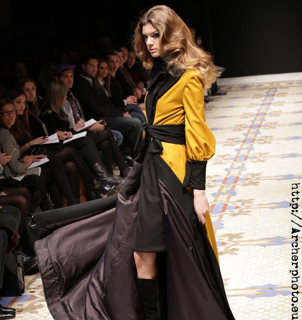 Desfile de Alejandro Resta (Modelo: Marta Ortiz) Semana de la Moda de Valencia (VFW) Otoño/Invierno 2013-2014