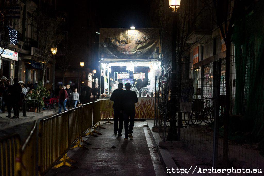 Un post con fotos de un montón de paradas de churros en València, por Archerphoto, fotografía Valencia