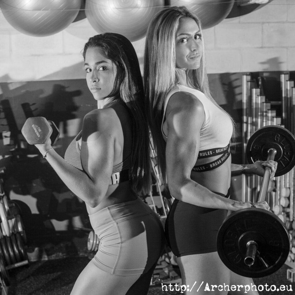 María Herranz y Yohana Bortolussi