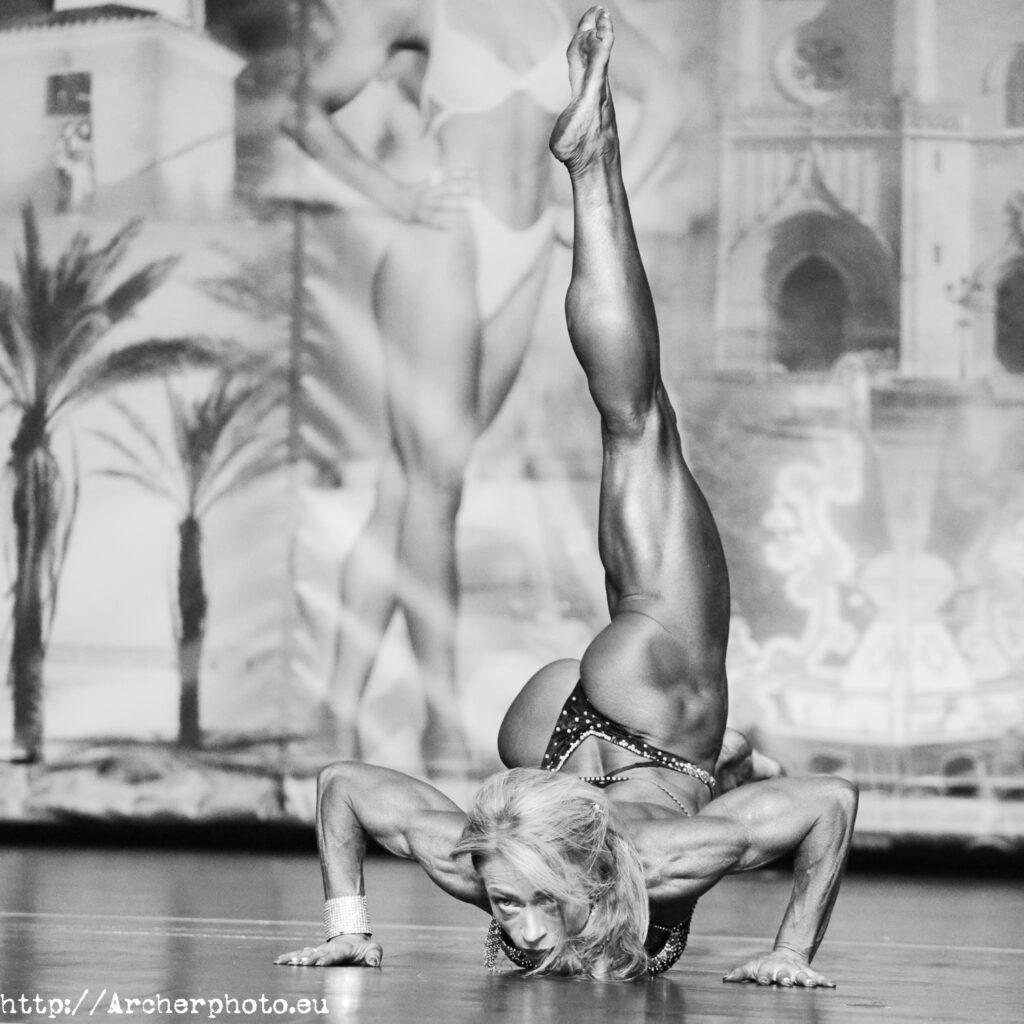 Olga Permina en el post de fotografía de competiciones deportivas de Archerphoto, fotógrafo profesional