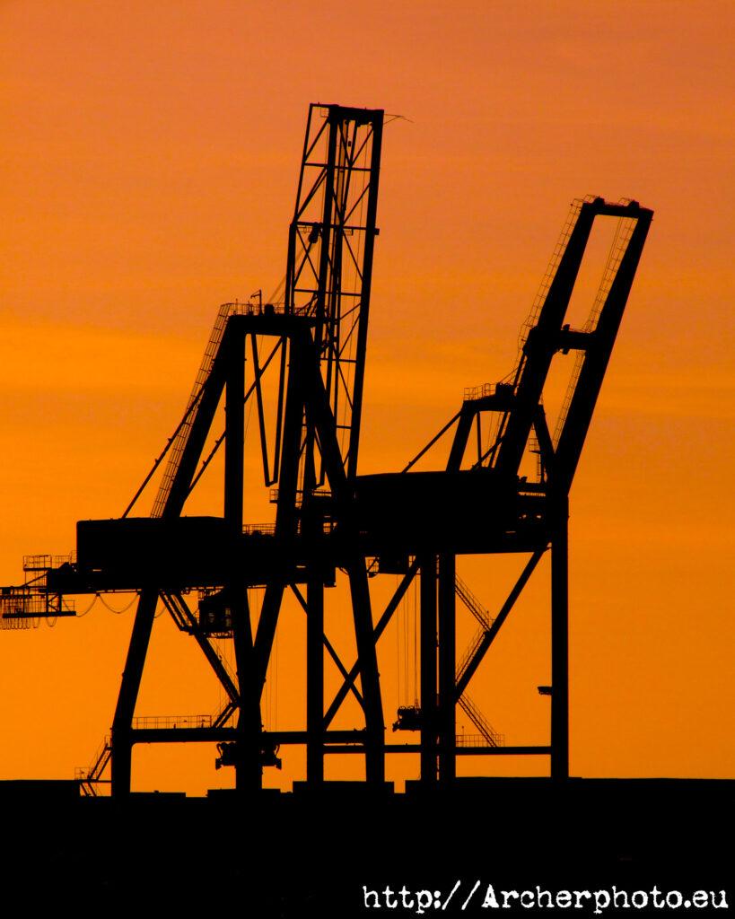 Puerto de València en 2005, por Archerphoto, imágenes para negocios.