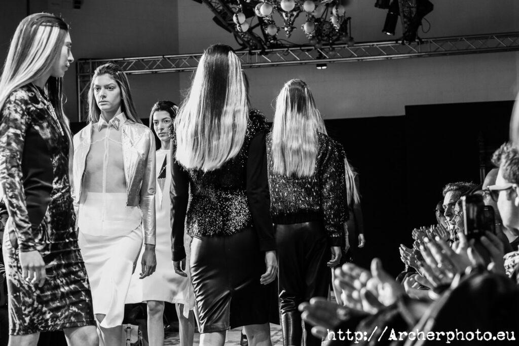Desfile en la Semana de la Moda de València con Marta Ortiz y Carmen Julia, por Archerphoto 7 febrero 2013