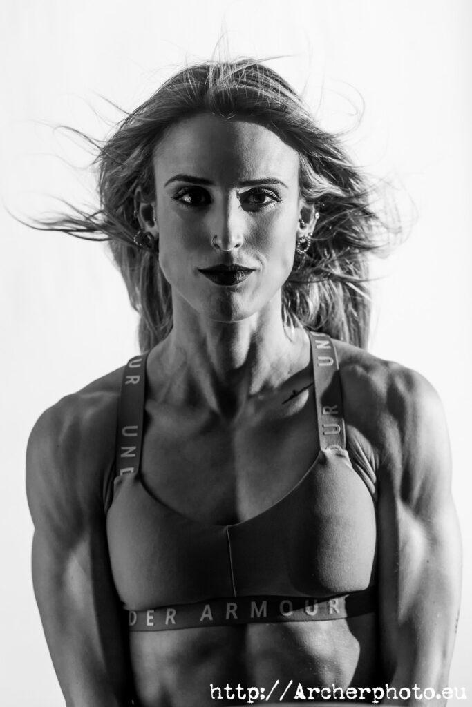 Leticia en la Galería de fotografía de deportes, culturismo y fitness
