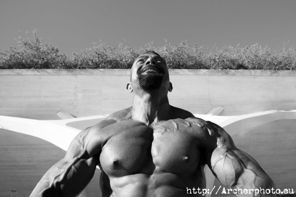 Samuel Solanot, una imagen de Archerphoto, fotografía de deportes, culturismo y fitness