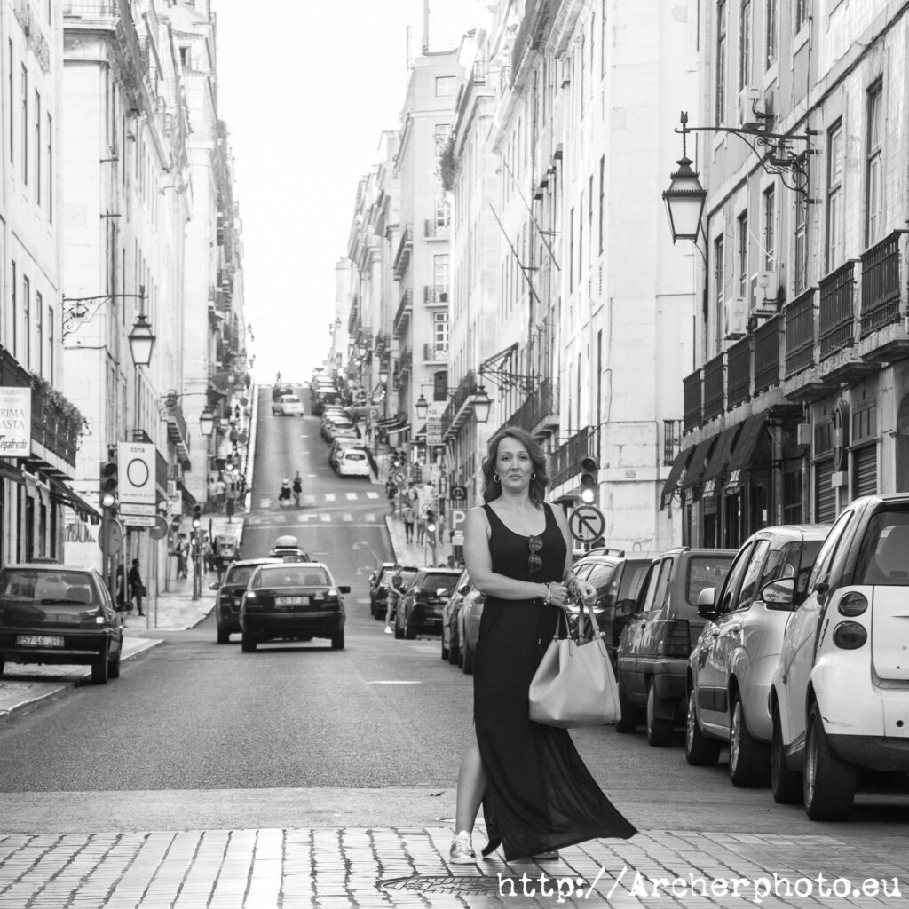 Nadia en Lisboa, por Archerphoto, fotógrafo profesional