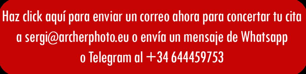 Call to Action correo fotógrafo profesional València ejemplos de books