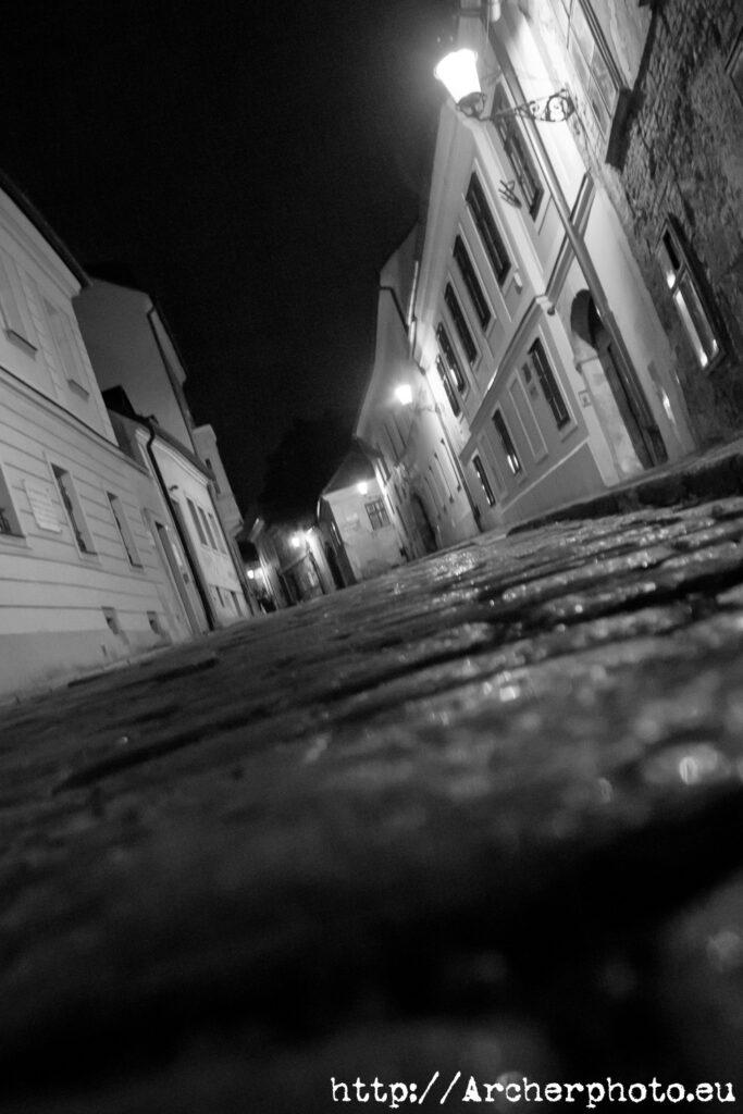 Plano contrapicado de Bratislava