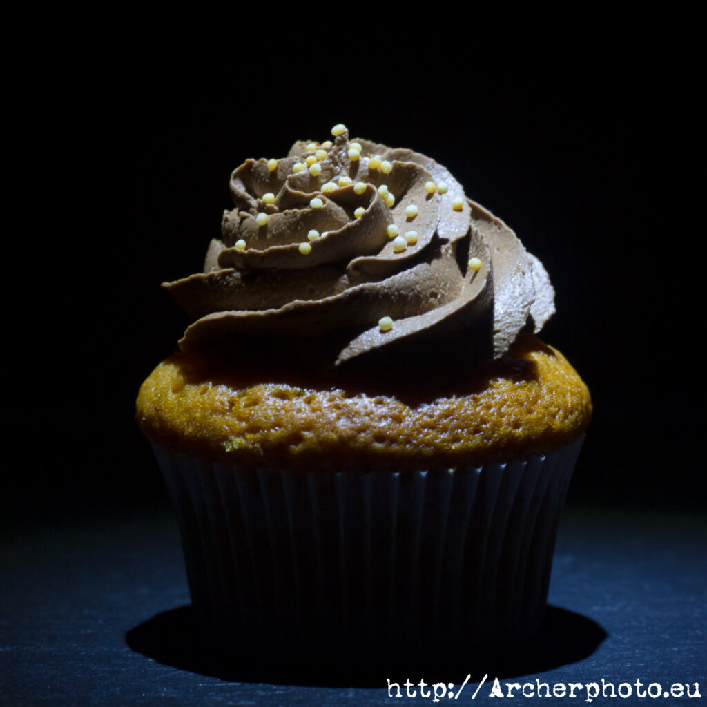 Un muffin para ilustrar un post sobre contratar un fotógrafo profesional. Foto: Sergi Albir,