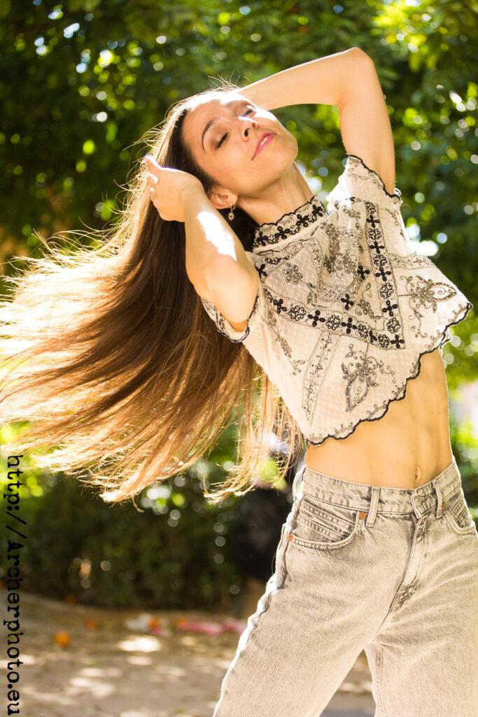 Ana Sophia Scheller en València, sesión fotográfica