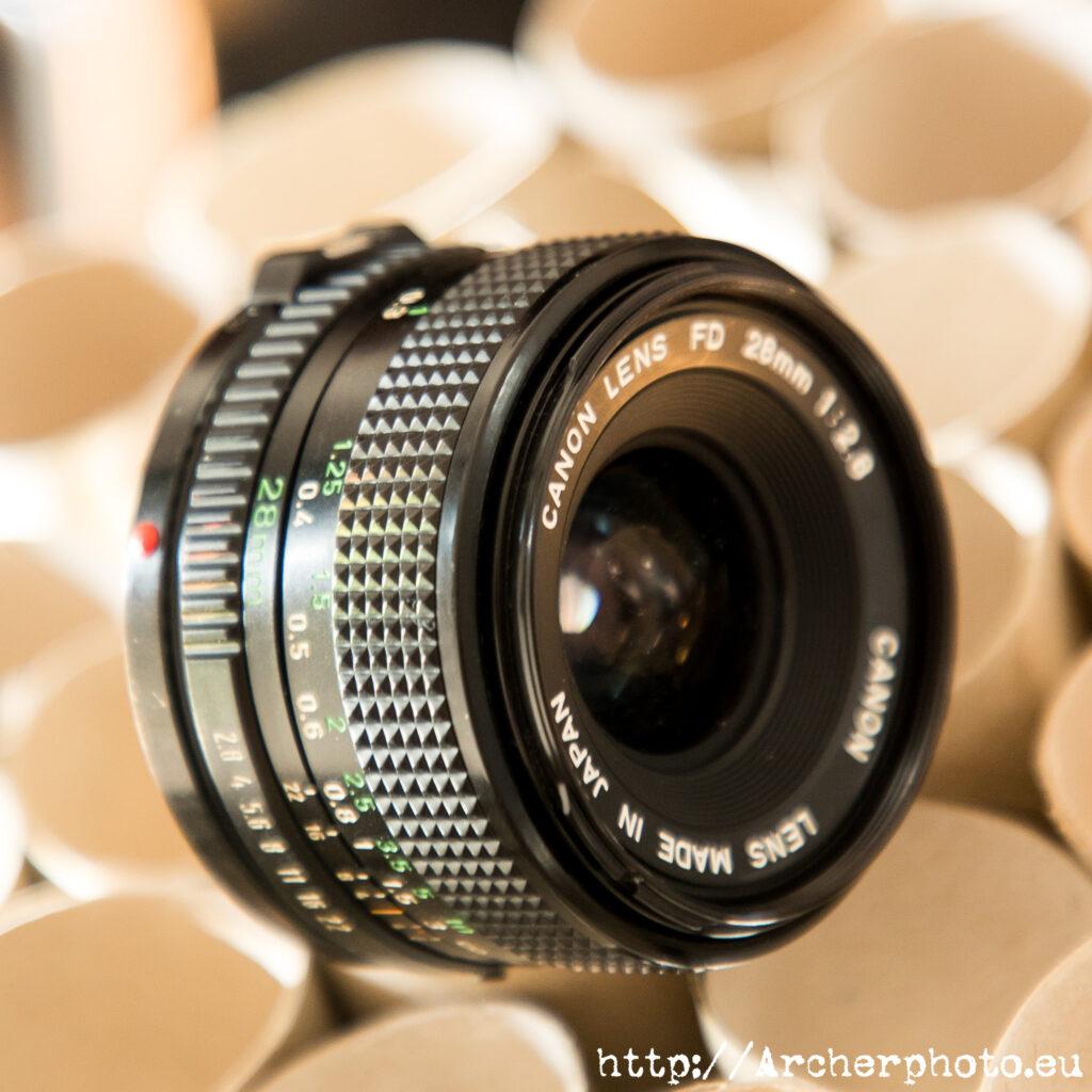 FD Canon 28 2,8