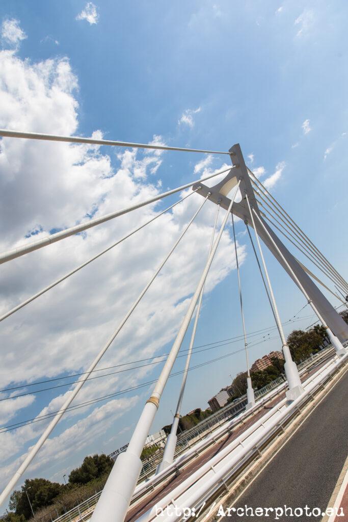 Puente Siglo XXI por Archerphoto, fotógrafo profesional en Castellón,