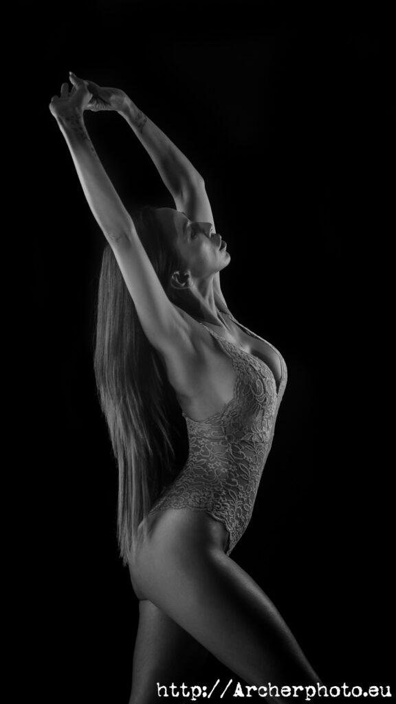 Delfi en el estudio, por Archerphoto