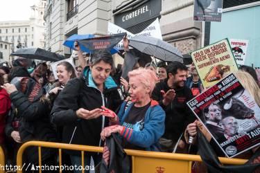 Manifestación antitaurina en Valencia, por Archerphoto, fotógrafo profesional